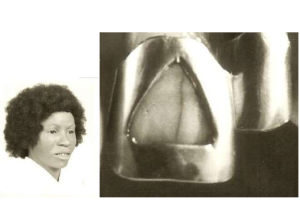black female skeletal with tooth